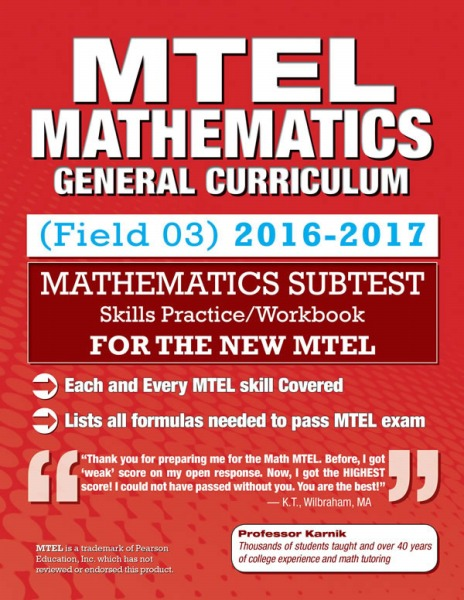 MTEL Mathematics